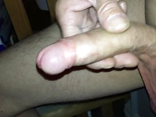 Jerk off and cum in the cellar