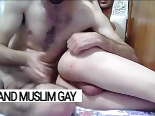gay Arab Tunisians celebrate the New Year with a deep fuck