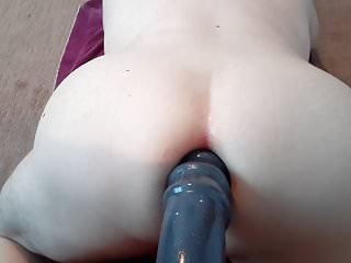 Huge dildo anal destruction boy pussy convulsion