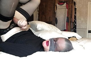 Cum in my mouth in nylon