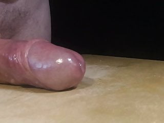 My uncut cock gets low on Sperma volume on 3rd orgasm
