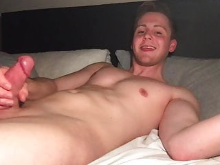 super hung twink beating his meat