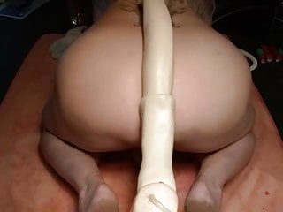 Machine Fucked By 24 inch Mr. Ed 02