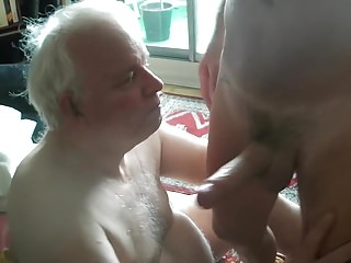 Grandpa blowjob series - 19