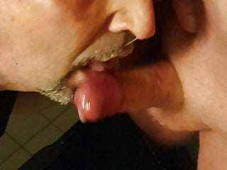Suck and get cum in face