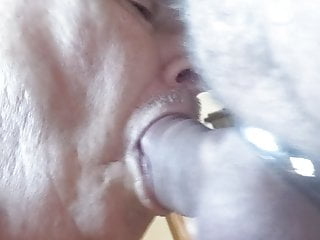 Me Sucking Dan's Big Cock