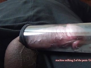 Machine milking 2 of the penis UsUsa