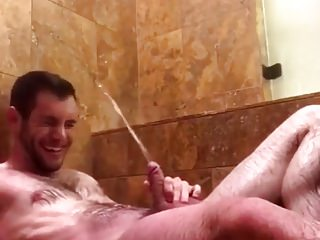 Piss Shower and Cum 2