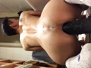 Asian tiny dick fag hungry hole
