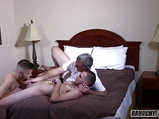 Young Jock Gets Fucked By Huge Cocks
