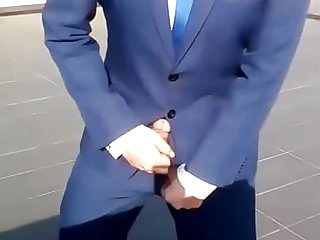 Asian boy - suit boner